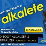 YOLI ALKALETE Produk Masa Kini Penawar Asid Dalam Badan Anda